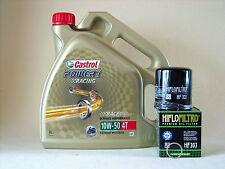 Castrol Alimentación 1 Carreras 10W50 Filtro De Aceite HONDA CBR900RR Fireblade