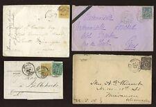 Francia 1868-1900 Lote Mixto De Cubiertas... defectuosos..10 artículos