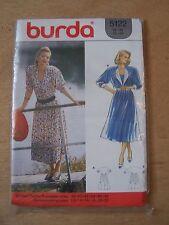 patron BURDA 5122 robes femme tailles 38 à 48
