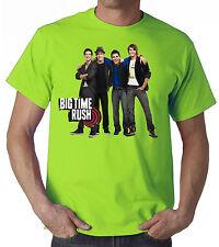 BIG TIME RUSH T-SHIRT GRUPPO MUSICALE BOY BAND modello uomo donna tanti colori