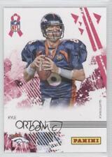 2010 Breast Cancer Awareness A Crucial Catch 117 Panini Kyle Orton Football Card