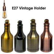 E27 Vintage Industrial Lamp Light Bulb Holder Antique Retro Edison E27 Fitting