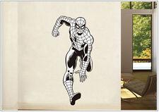 Wandtattoo wandaufkleber wandsticker photo tanzen Porträt spider Man wph45