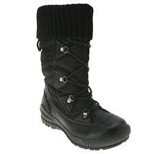 Spring Step Women's Frigid Black Waterproof Snow Boots size US 5-11 EUR 36-42