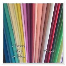 FOAMIRAN Flower Making Foam 0.6mm 29 Colours 30x35cm Sheets