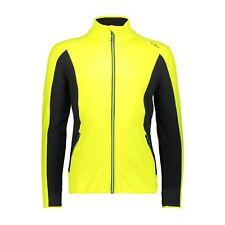 CMP Fleecejacke Jacke MAN JACKET gelb atmungsaktiv elastisch wärmend Unifarben
