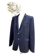 Bruno Saint Hilaire Black Wool Gaberdine Blazer. RRP £229