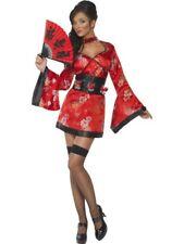 Smiffys Vodka Geisha Oriental Designed Adult Womens Halloween Costume 20559