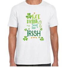 Mangiare Bere E Be Irlandese - MensT camicia - Giorno Di San Patrizio Trifoglio