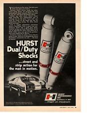 1972 PLYMOUTH DUSTER  ~  SOX & MARTIN DRAG RACING  ~  NICE HURST AD