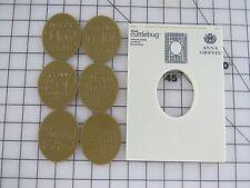 Cricut Cuttlebug Anna Griffin Embossing Frame Folder & 3 Mix & Match Sentiments