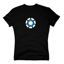 T-Shirt Arc Reactor Iron Man Tony Stak Marvel Avengers Comic Kult Thor S-3XL