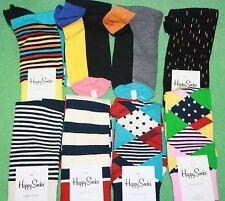 Happy Socks Mens Argyle Stripe Red Blue Black Orange Pink Choose NEW Gift Box