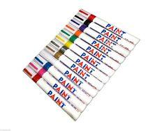 Permanent Paint Pen Car Bike Tyre Tire Metal Marker - Pack of 2 Pens