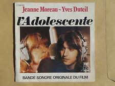 BO Film L'adolescente JEANNE MOREAU YVES DUTEIL 14732