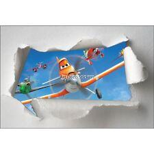 Stickers enfant papier déchiré Cars Planes réf 7628