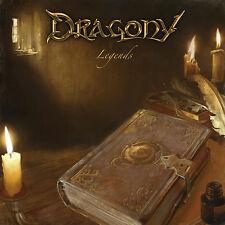DRAGONY - Legends CD 2012 Symphonic Power Metal Vision Of Atlantis