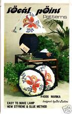 Craft Books: #1088 Marika Fabric Lamp Shade Pattern