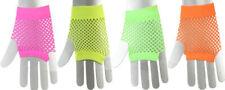 Orl - fingerlose kurze Netz-Handschuhe Fasching Karneval