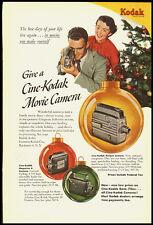 Cine-Kodak 8mm Camera Vintage Ad 1949 (112011)