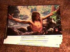 GREYSTOKE LEGEND OF TARZAN LOBBY CARD SET 1984