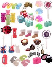 D32 Ladies or Girls Novelty Fun Lip Gloss Holders -UK Teddy Bear, Skull, Rabbit