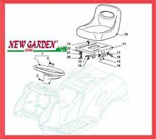 Vista desarrollada asiento volante tractor 92cm TC 13 5/92 H CASTELGARDEN