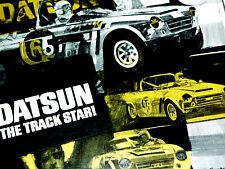 1968-1969 DATSUN 2000/1600 VINTAGE RACING AD-Nissan/spl310/1967-70/print/poster