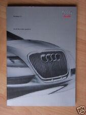 Audi Nuvolari quattro Pressemappe /Press-kit, Genf 2003