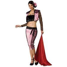 SEXY PINK MATADOR BULL FIGHTER HALLOWEEN COSTUME ADULT XS S M L 2 4 6 8 10 12 14