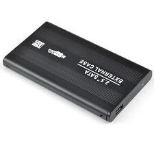 "USB 3.0 2.5"" inch SATA External Hard Drive HDD SSD Enclosure Case Skin Aluminium"