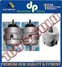 AUDI A4 & QUATTRO 1.8 1.8T Engine Motor Mount Mounts LEFT + RIGHT + FRONT SET 3