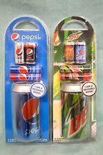 U PICK 5 PC Set FLAVORED Lip BALM Collect Pepsi MOUNTAIN Dew Bank Cherry COLLECT