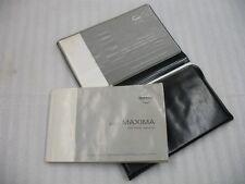 2002 NISSAN MAXIMA OWNERS MANUAL BOOKS HANDBOOK CASE 02