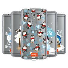 UFFICIALE Emoji Winter Wonderland Soft Gel Custodia per Telefoni ZTE