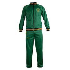 St. Pauli Green Punk Retro Football Tracksuit Zipped Jacket Mens
