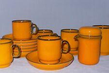 Thomas Form 10760 Scandic Dekor gelb / Orange diverse Teile zur Wahl
