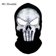 Black Mask Balaclava Hats ghost the punisher Skull Full Face Warm Mask Winter