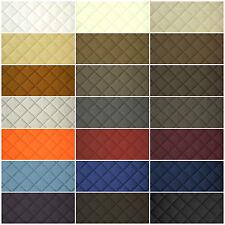 Kunstleder Leder PVC PKW Polsterstoff gesteppt 5x5cm Raute in 21 Farben