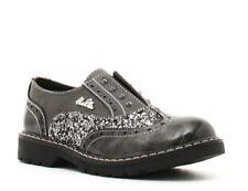 Lulù-Candy-Scarpe da Bambina-Sneakers Junior-Colore Grey/Grigio-Saldi Shoes Sale