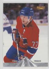1996-97 Pinnacle Premium Stock #22 Pierre Turgeon Montreal Canadiens Hockey Card