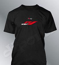 Tee shirt personnalise YZF R1 S M L XL XXL homme moto