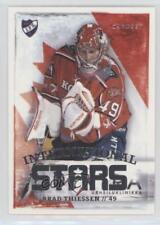 2013 Cardset Finland SM-Liiga International Stars #IS7 Brad Thiessen Hockey Card