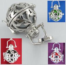 Repro Wikinger Amulett Walküre Silber Mittelalter Walküren Anhänger Lederschnur