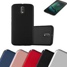 Schutz Hülle für Motorola MOTO G4 / G4 PLUS Handy Hard Cover Case Matt Metallic
