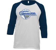 Las Vegas Quicksilvers NASL Soccer Raglan 3/4 Sleeve Baseball T-shirt With Logo