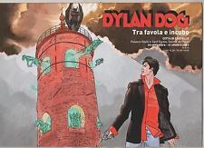 brochure grande DYLAN DOG TRA FAVOLA E INCUBO tiferno comics 2007 città castello