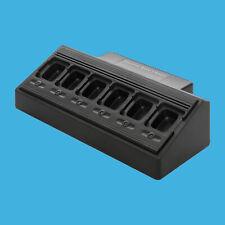 6 Way Multi Unit Charger for Motorola PR6380 XPR6550 XPR6580 XPR7350 XPR7550