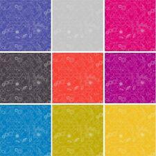 Sunprints Ornate Floral Abstract Birds & Locks 100% Cotton Fabric (Makower)