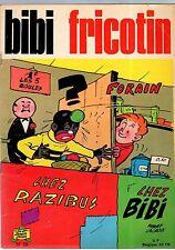BIBI FRICOTIN n°69 ° BF FORAIN ° SPE ° 1970